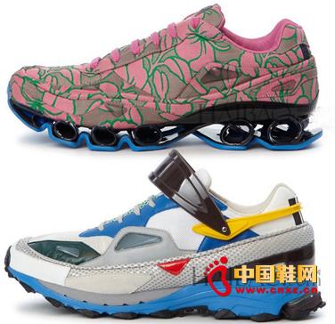 阿迪达斯携raf simons推2014春夏运动鞋