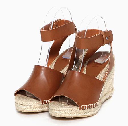 舒适清凉坡跟鞋 美丽不累脚