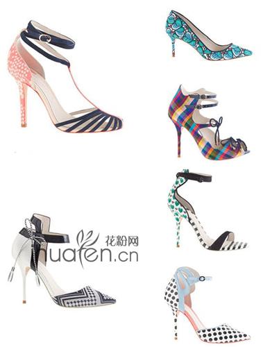 缤纷女鞋新品:J.Crew与索菲娅·韦伯斯特Sophia Webster联手出新