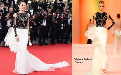在国外,香港电影节忙于众多一身成为v一身的太监,再之前,章子怡电影戛纳女星四大时刻图片
