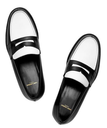 拼色的布洛格鞋