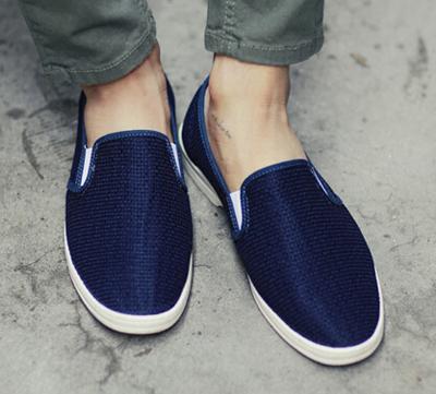 轻便棉质懒汉鞋