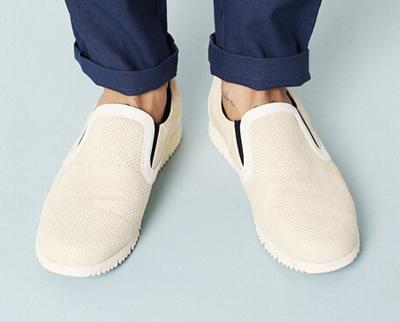 钻孔漏洞设计的懒汉鞋