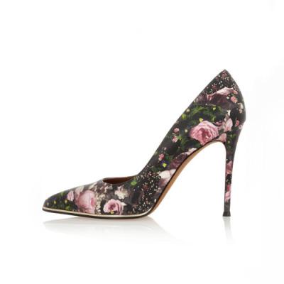 Givenchy 花卉印花高跟鞋