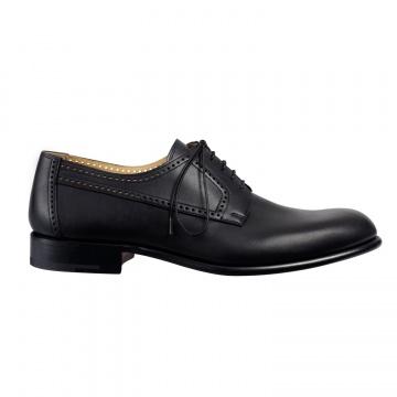Hermès 小牛皮DERBY鞋