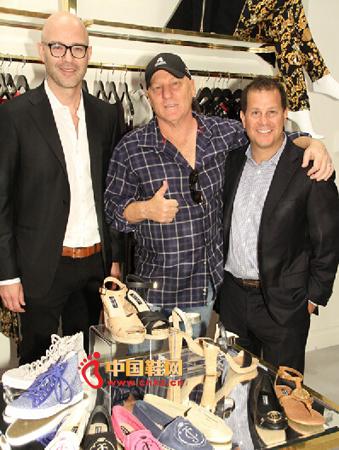 美国品牌橘滋和steve madden合作推出鞋子系列