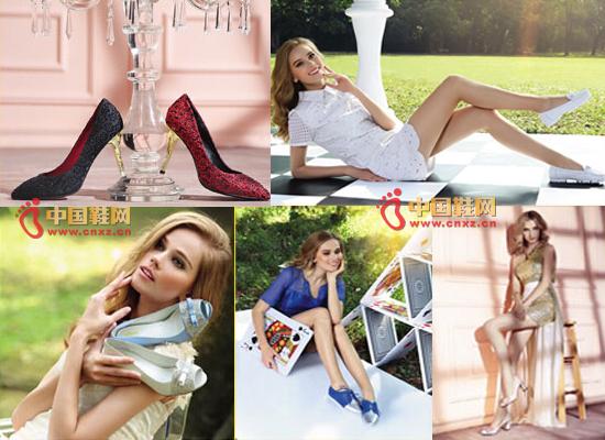 勋爵女鞋品牌鞋品展示