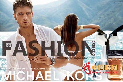 Michael Kors 首款男士香水广告