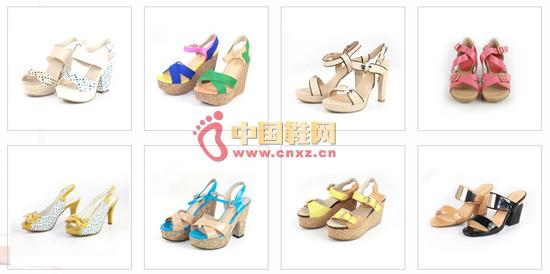 香恋女鞋品牌鞋品展示