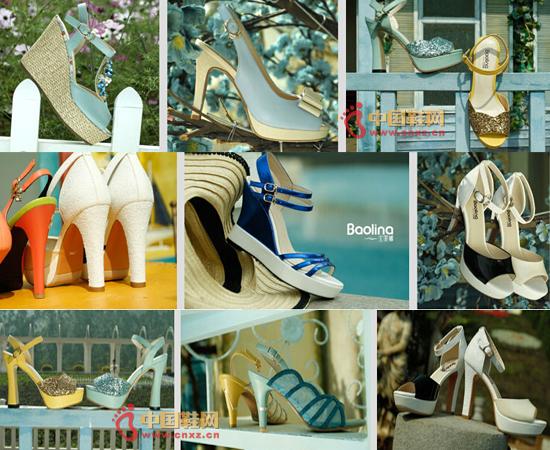 宝丽娜女鞋鞋品展示