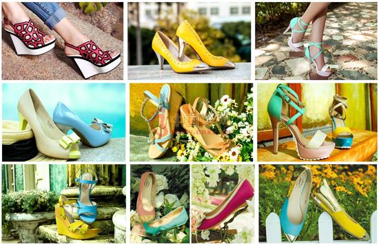 安妮女鞋品牌鞋品展示