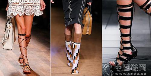 70年代风格大行其道 潮款鞋包推荐-流行接触-中国鞋