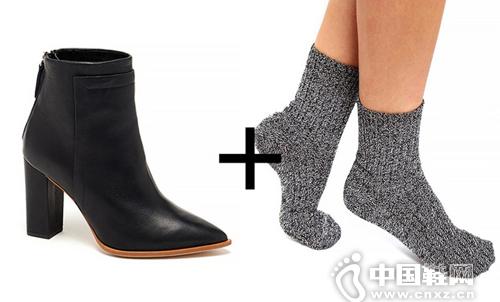 韩国堆堆袜搭配_短靴配袜子_青年图片搜索