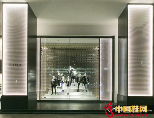 ZARA 全新形象店进驻上海南京东路
