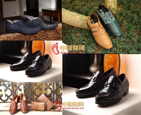 宾渡男鞋品牌鞋品展示