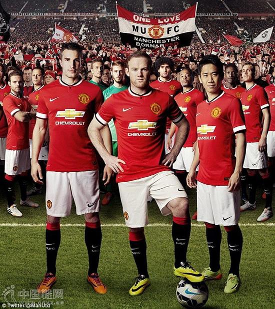 这也是体育史上最昂贵的球衣广告,足见在足球帝国中曼联俱乐部是怎样图片