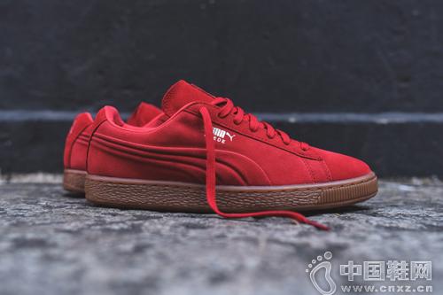 PUMA Suede Emboss 配色系列鞋款
