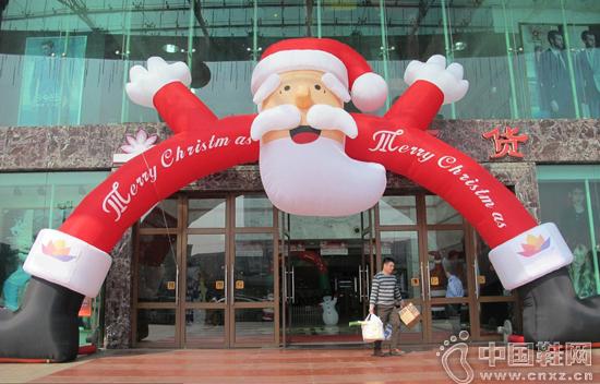 """年底最后一仗,商家争相开启""""圣诞模式"""""""