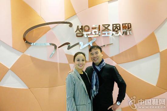 圣恩熙董事长朱林及其妻子