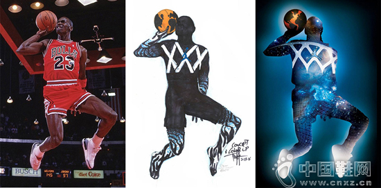 Air Jordan XXX 的概念圖