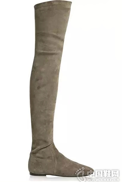 Isabel Marant 弹力绒面革过膝长靴