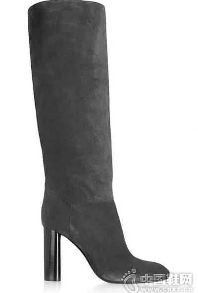 Lanvin 绒面革及膝长靴