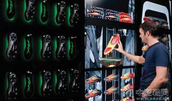 阿迪达斯搞了一个虚拟墙,就是想和你互动起来