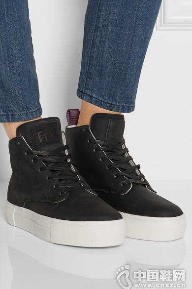 Eytys Odyssey 牛巴革高帮运动鞋