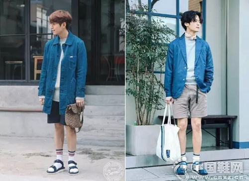 凉鞋 白袜真不是非主流,那叫 zuo zuo的潮流图片