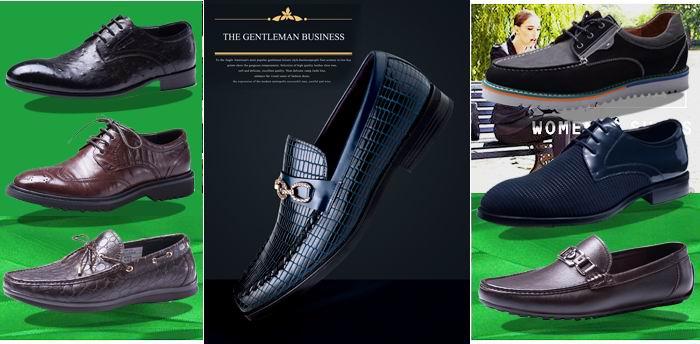 里奇波士皮鞋新产品