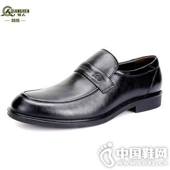 3515强人2016新款真皮商务皮鞋