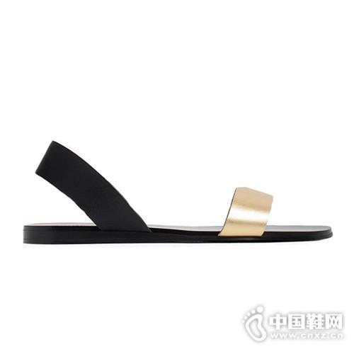 平底凉鞋大全 没有高跟鞋的夏天照样美的惊人