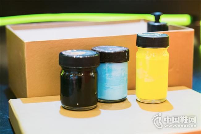 由自己混合出来的独特颜色,只此一家