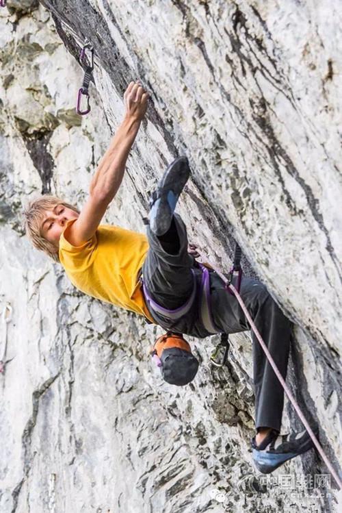 Alex Megos加拿大首攀9b难度路线