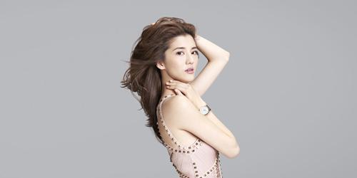吴千语代言腕表展现多种姿态