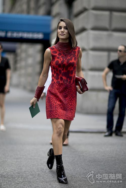 """纽约2017春夏时装周街拍不""""色""""真赢不了"""