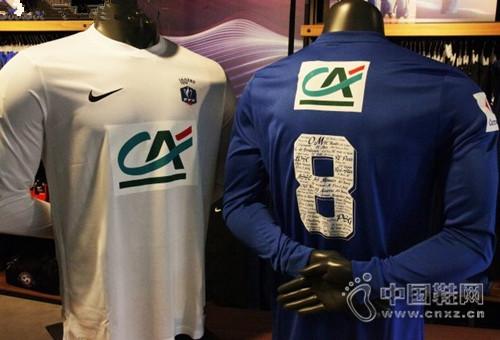 耐克推出法国杯百年特别版球衣