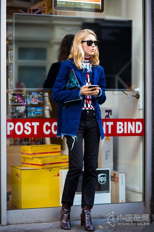 【街拍】一件牛仔外套就能搭出你想要的Feel