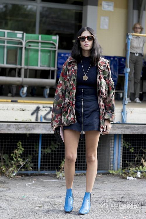 時裝周走出的高冷美女 這個博主堪稱潮流風向標