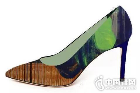 本那与MFmore合作的艺术鞋
