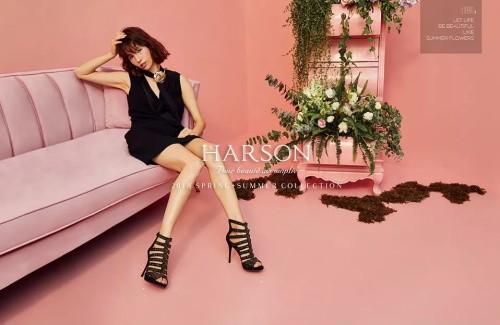 哈森Harson女鞋2018新品上市 走现代时尚之路