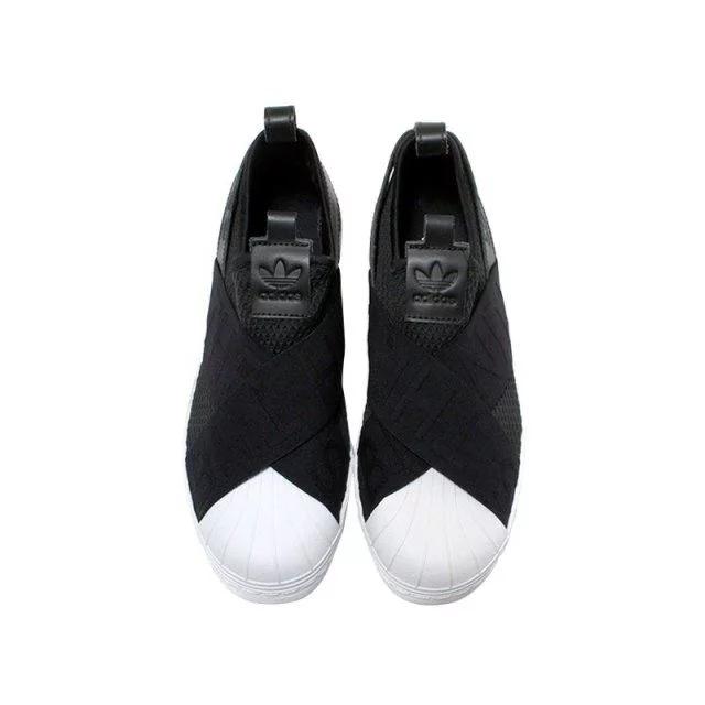 阿迪达斯一脚蹬休闲鞋 经典贝壳头款时尚百搭