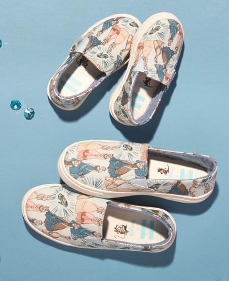 TOMS 推出迪士尼DISNEY联名鞋款