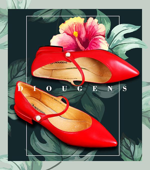 迪欧摩尼时尚女鞋品牌:穿出时尚高级感