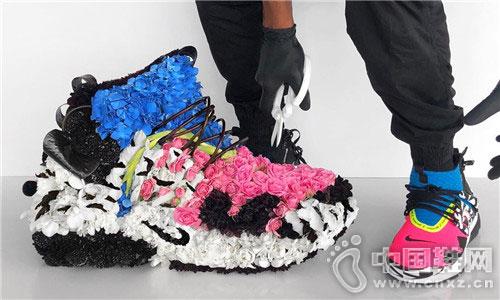 Mr. Flower Fantastic 打造最新 ACRONYM® x NikeLab 花束球鞋作品