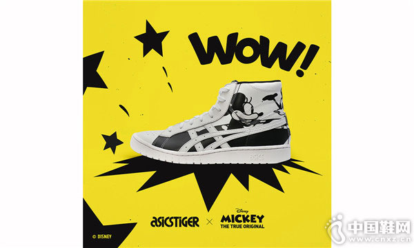 米奇诞生大银幕 90 周年 ASICSTIGER 携手迪士尼打造联名鞋款