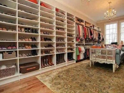曬曬楊冪住的豪宅,衣帽間柜子塞滿名牌鞋子,太令人羨慕了