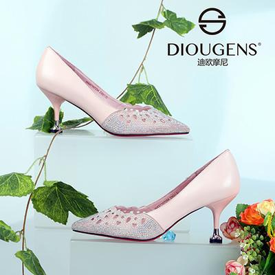 """迪歐摩尼女鞋時刻掌握""""快時尚""""動向,為投資商護航!"""