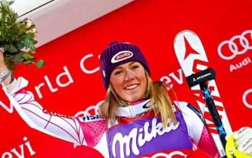 阿迪達斯簽約美國滑雪名將席弗林 為Terrex戶外品牌代言
