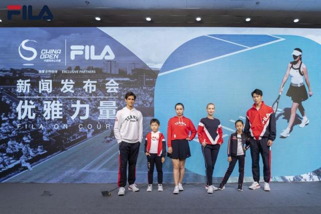 澳门金沙网站app:FILA成为中网独家运动服鞋官方合作伙伴